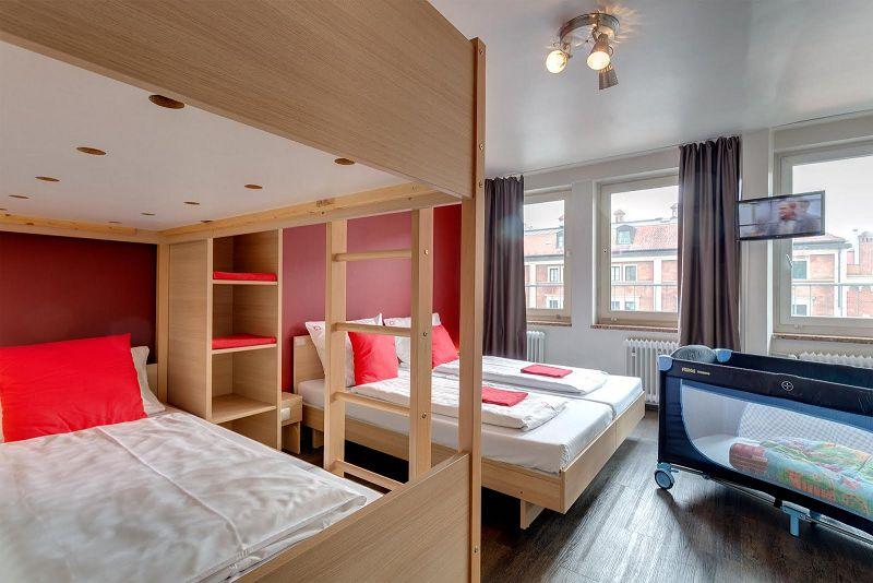 Hotel In Munchen Familienzimmer